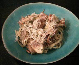 Spaghetti-paddenstoelen